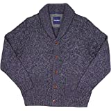 Tommy Bahama Cable on the Rocks Shawl Cardigan Sweater Coastline Mens M