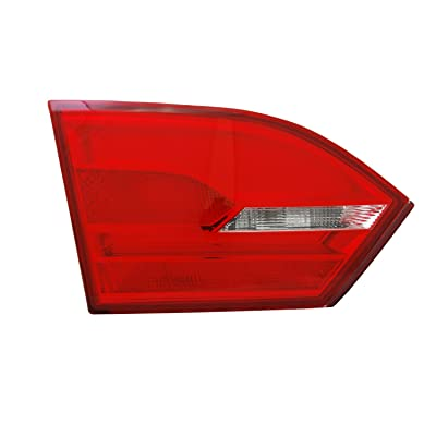 TYC 17-0324-00-9 Compatible with Volkswagen Jetta Left Replacement Reflex Reflector: Automotive