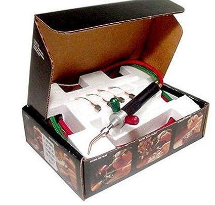 Universal Joyeros Micro Mini gas pequeña antorcha de soldadura Kit de soldadura con 5 consejos