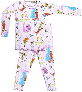 product image for Books to Bed Girls Pajamas - Bloom Story Long Sleeve and Long Pants Pajamas
