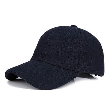 Gorra de Beisbol para Mujer, Gorra de Beisbol con Ocio Clasico Ajustable Fastner Boys Mens Invierno Hairy Hat Sun Hat al Aire Libre ❤ Absolute: ...