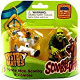 ScoobyDoo Mystery Mates Figure 2Pack Space Man Scooby Zombie
