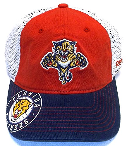 Florida Panthers Red 2013 Center Ice Official Team Slouch Stretch Fit Hat