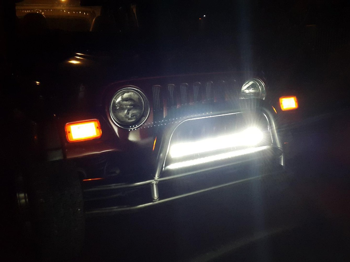 22 inch Willpower 22 inch 324W Triple Row Flood Spot Combo Beam Led Bar Driving Boat Off Road Lights for Jeep SUV Truck ATVs .