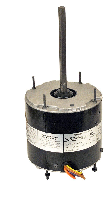 Mars 10459 Mars Multi HP Motor 1/3-1/8HP 208-230V 825RPM WIZ