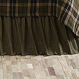 VHC Brands 10742 Tea Cabin Queen Bed Skirt 60x80x16
