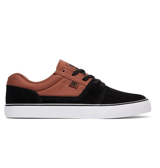 DC Shoes Tonik Sneakers Skateboardschuhe Herren Damen Unisex Erwachsene Schwarz/Braun (Camel)