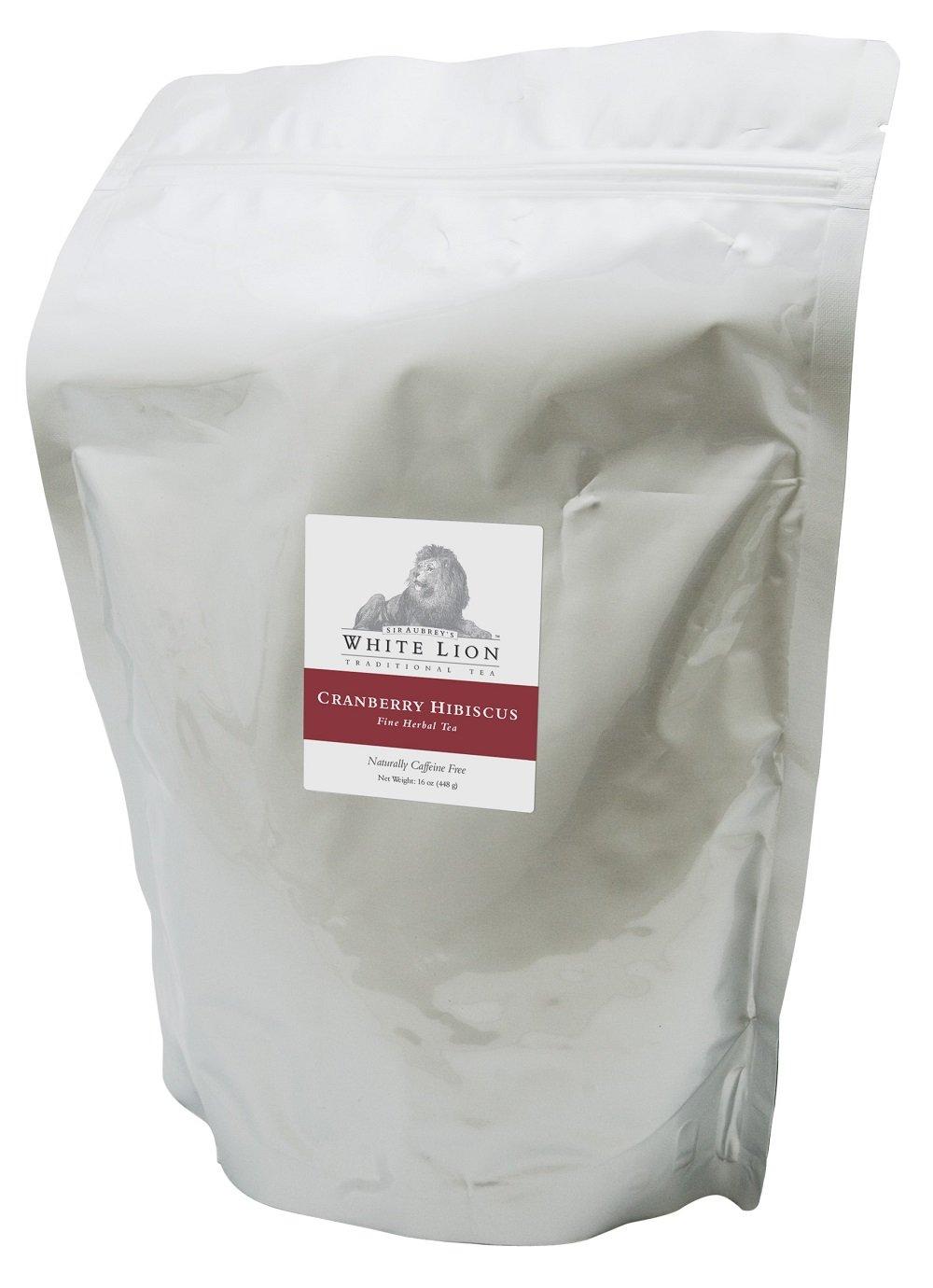 White Lion Cranberry Hibiscus Loose Tea, 16 oz