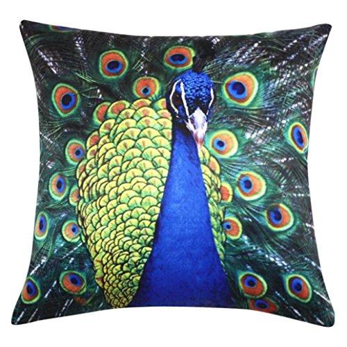 43cmx43cm Colorful Eyes Home Bed Sofa Decor Pillow Case Cover - 8
