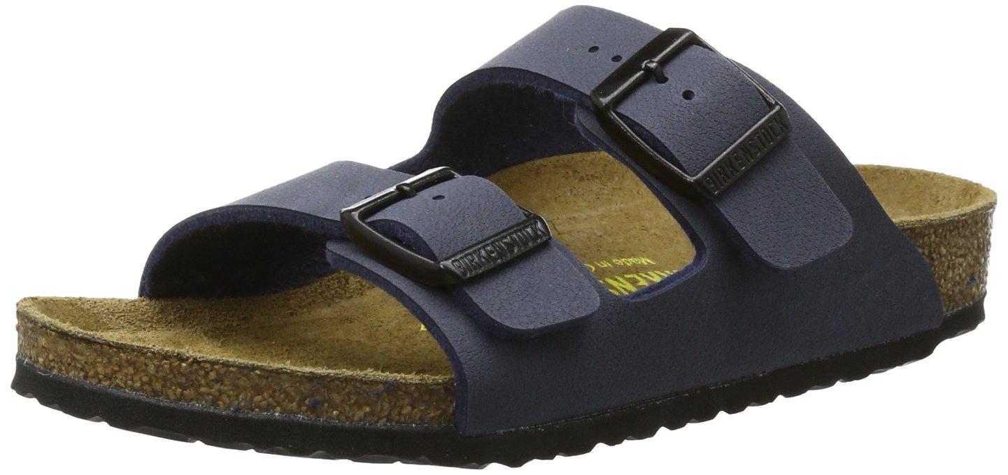 Birkenstock Arizona Birko-Flo Navy Birko-flor Sandals - 34 Narrow EU