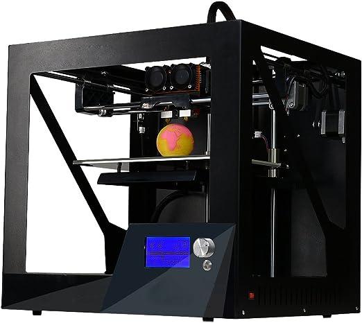 J&T3Dプリンター二色3Dプリンターデュアルヘッドプリンター金属フレーム構造JT28001