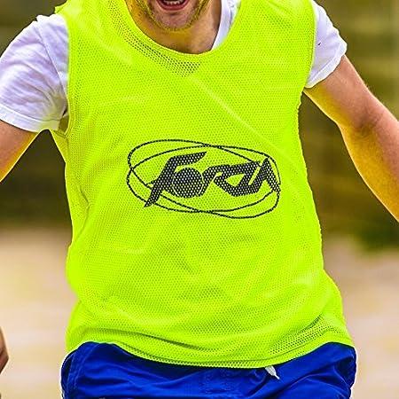 Net World Sports Trainings Netzwesten 5er Pack Blau, Erwachsene in Vier Gr/ö/ßen und 5 Farben