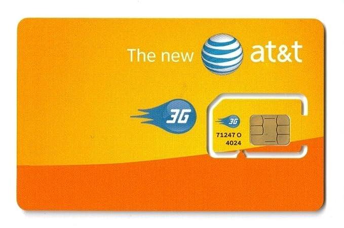 AT&T SIM Card (USA)