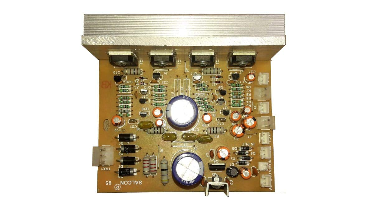 Salcon Electronics 2 2 Tower Audio Amplifier Board: Amazon
