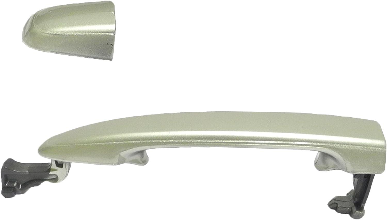 Rear Outside Door Handle W//O Keyhole For 2004-2010 Sienna Aspen Green Pearl 6S7