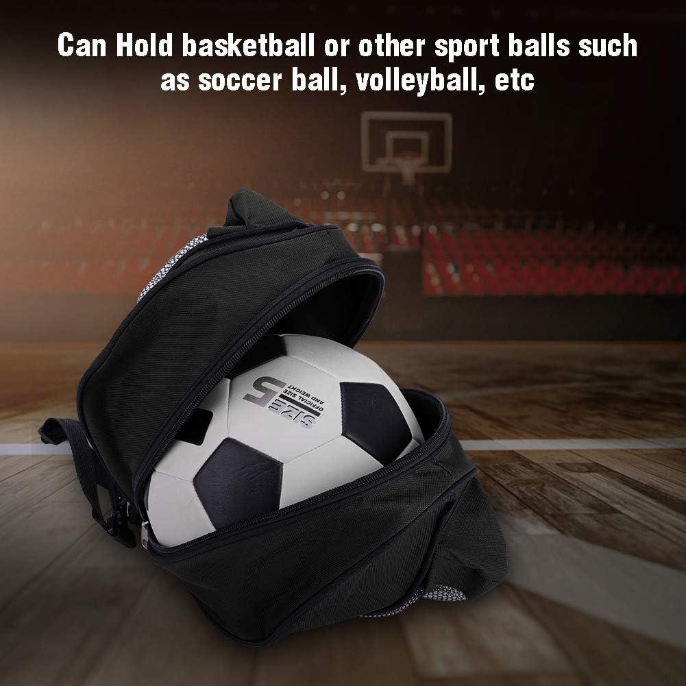 Bnineteenteam Basketball-Tr/äger leichte tragbare Fu/ßball-Fu/ßball-Volleyball-Softball-Tasche mit 2 seitlichen Netztaschen