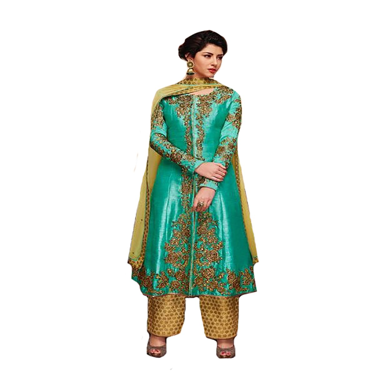 New Launch Collection Indian Straight Salwar Kameez suit Ceremony wedding