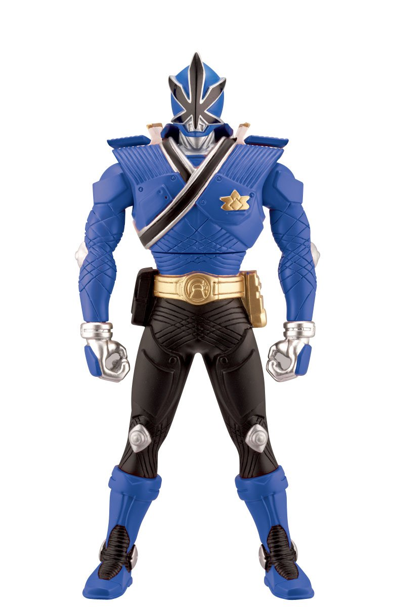 Power Ranger 6.5inch Morphin Figure Blue Ranger with Action