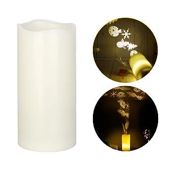 De Lampe Led Sans Avec Plat Projection Kobwa Chauffe Flamme Bougies mON8wvn0