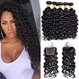Best Hair Bundles With Free Parts - Maxine Malaysian Water Wave Hair 3 Bundles Review