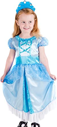 Cinderella Girls Fancy Dress Disney Princess Book Day Week Childrens Kid Costume