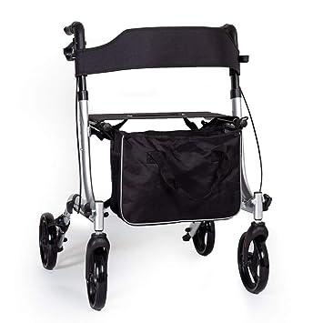 EC X FOLD andador plegable ligero con asiento y bolsa - elección ...