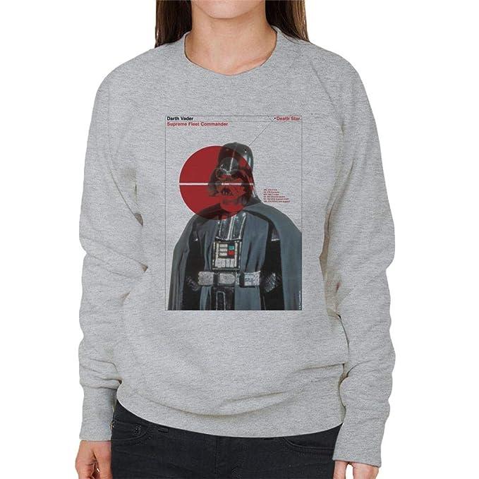 Star Wars Darth Vader Supreme Fleet Commander Womens Sweatshirt