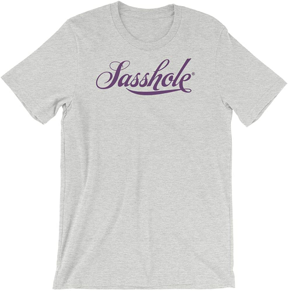 SASSHOLE Womens Short-Sleeve T-Shirt