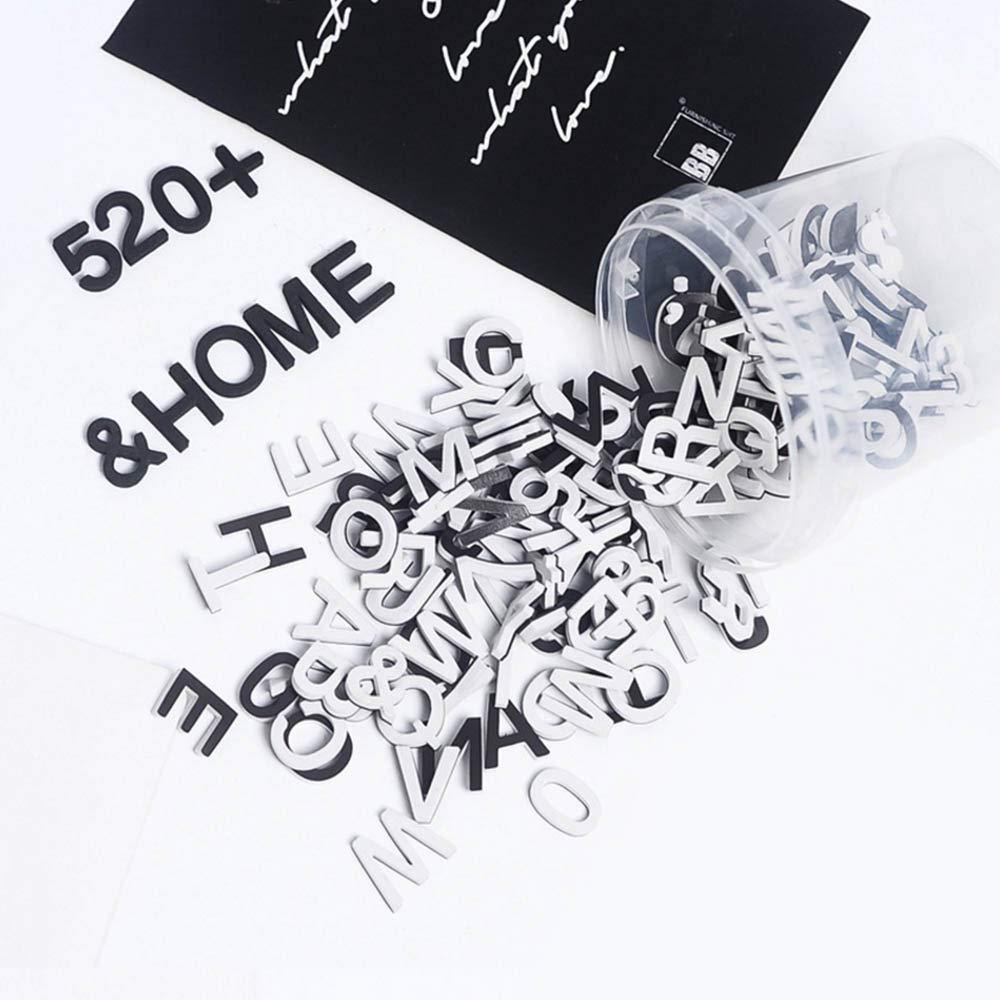 Takefuns Magnetbuchstaben und Zahlen Set von 146 hochwertigen ABC schwarz und wei/ß Schaum Alphabet Magnete Bestes Lernspielzeug f/ür Vorschule Lernen Rechtschreibung Z/ählen