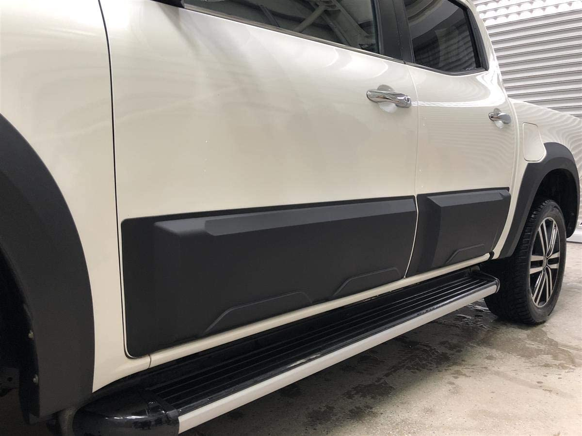 Side walls widening side protection for Mercedes Benz X-Class from year of manufacture 2018