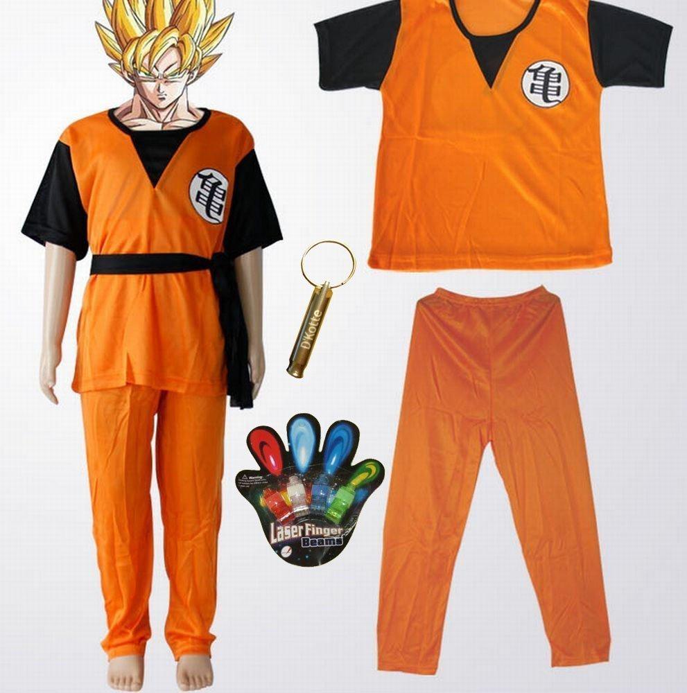 Dragon Ball Goku Gohan ninos del traje del traje Ninos 130cm-140cm: Amazon.es: Juguetes y juegos