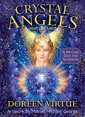 Crystal Angels Oracle Cards: A 44-Card Deck and Guidebook ()