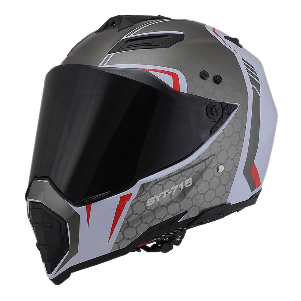 S, Cheers Woljay Casques motocross Casque sport moto sport double sport Salet/é Bicyclette VTT