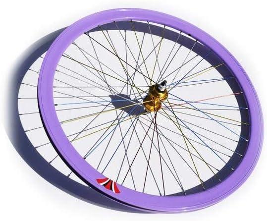 Riscko 004l Rueda Trasera Bicicleta Personalizada Fixie Talla L ...