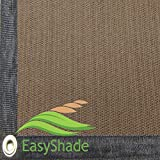 EasyShade 95% Heavy Duty Beige Sunblock Shade Cloth Taped and Grommets UV (13 x 8)