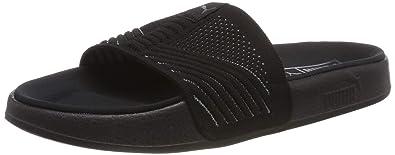 buy popular 48e29 b7b39 Puma Leadcat Knit Premium, Chaussures de Plage  Piscine Mixte Adulte, Noir  Black-