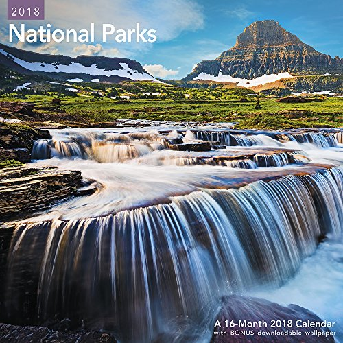 2018 National Parks Wall Calendar (Mead) cover