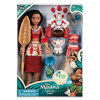 Disney Moana Singing Feature Doll Set - 11 Inch: Toys & Games