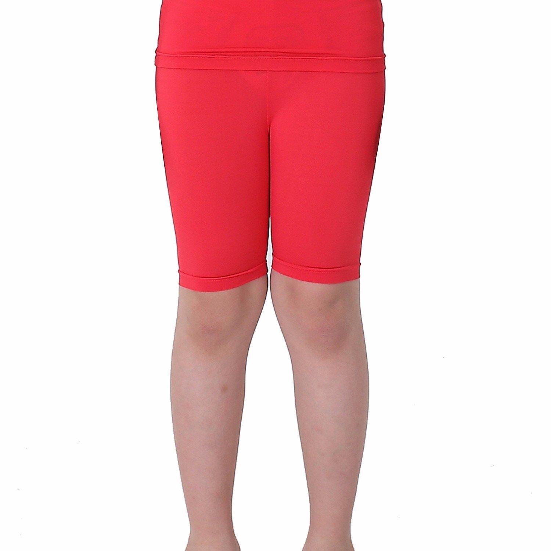 Henri maurice Kids Compression Shorts Underwear Youth Boys Spandex Base Layer Bottom Pants FK Red M
