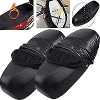Motorstoelhoes, Biluer 2PCS Scooterstoelhoes Motorfietsstoelhoes Bromfietsstoelhoes Geschikt voor elektrische…