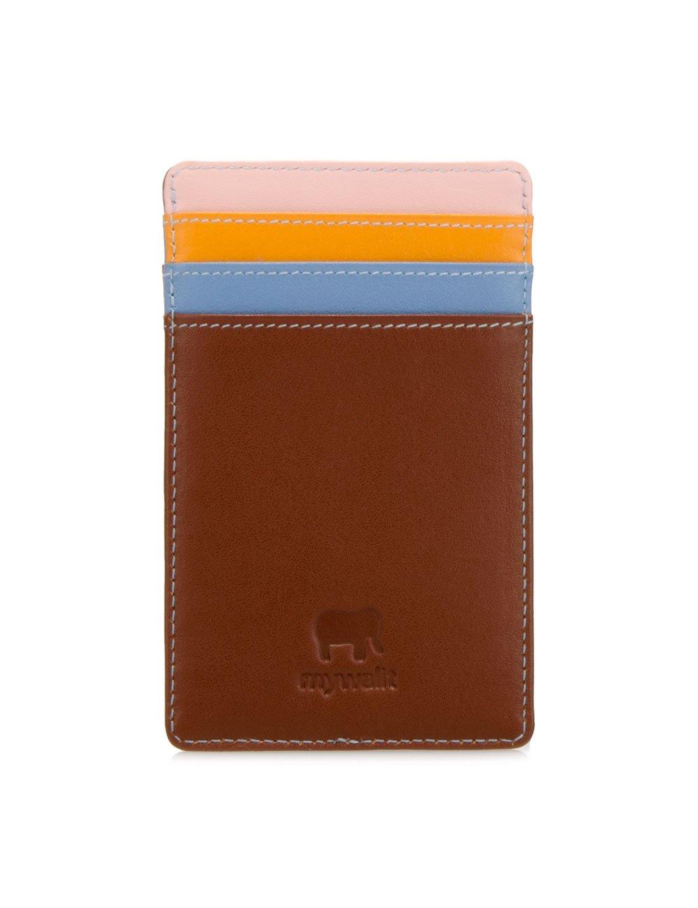 Mywalit Kreditkartenhalter aus Leder in Geschenkbox, 128