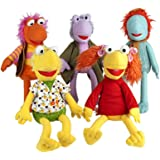 """Official Large 26"""" Fraggle Rock Characters Plush Soft Toys - Retro TV Cartoons - Red"""