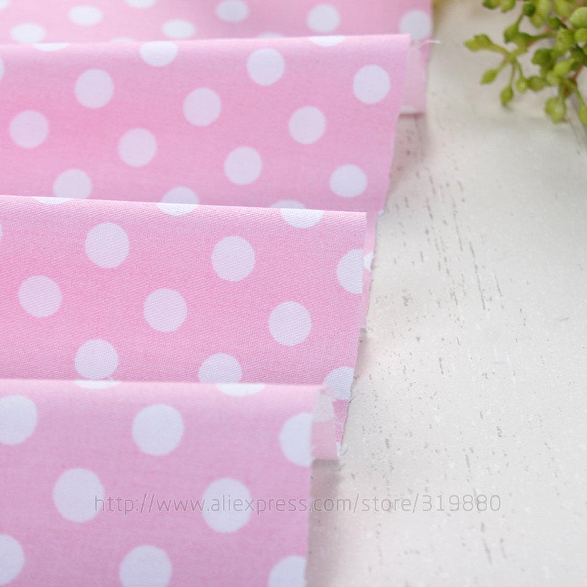 TACOLI - Tela de costura - Tela de edredón superior - 5 piezas de tela de tela de diente de león rosa y morado para coser tela de patchwork ropa de cama ...