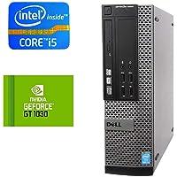 Intel Quad Core i5 Gaming Desktop PC 8GB RAM 500GB HDD NVIDIA GTX 1030 2GB Win10 (Renewed)