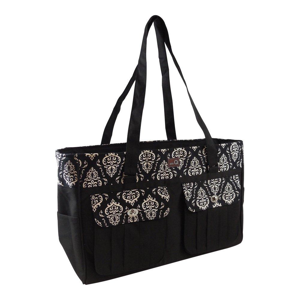 Della Q Isabella Knitting and Crochet Bag #440-1 - Columbia by della Q (Image #1)
