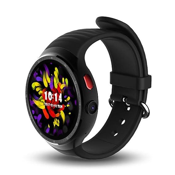 Amazon.com : SUKEQ Waterproof Smart Watch, LES1 Bluetooth 3G Smart Watch RAM1GB+ROM16GB 2.0MP Camera GPS WiFi Heart Rate Monitor Pedometer For iphone ...