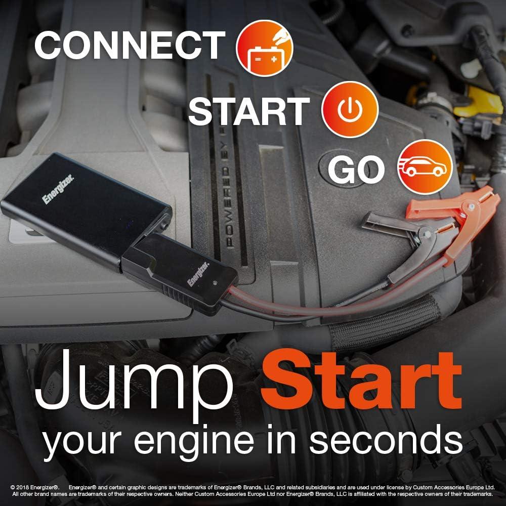 12v Energizer 50806/Lithium Portable Car Jump Starter 9000 mAh