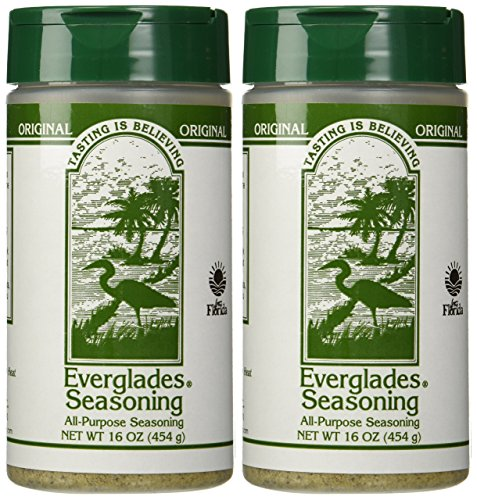 Everglades Seasoning, 16 oz, Case Pack of 2 by Everglades