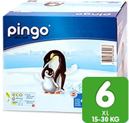 PINGO bio pañales Bolsa Ware ecológica einwegwindel fabricado en Suiza