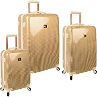 Anne Klein Manchester 3 Piece Hardside Luggage Set (Multi Colors)